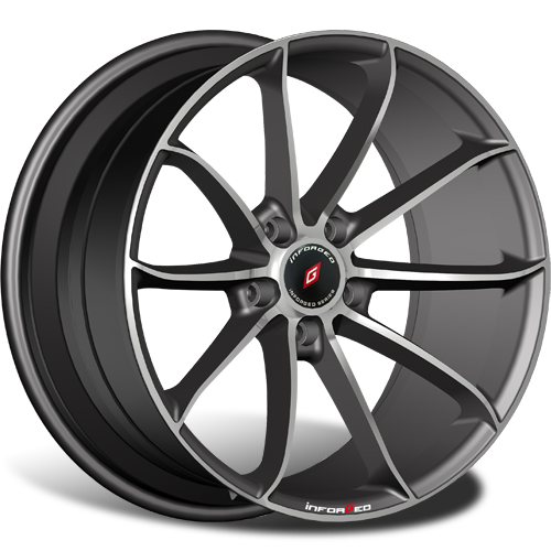 INFORGED IFG18 8J R18 5x112 ET40 D66.6Black Machined - 41200руб/комп