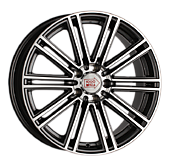 1000 MIGLIA MM1005 7.5J R17 5x120 ET35 D72.6 Dark Anthracite Polished 35820 руб/комп